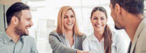 Header - Get Quote Happy Business People